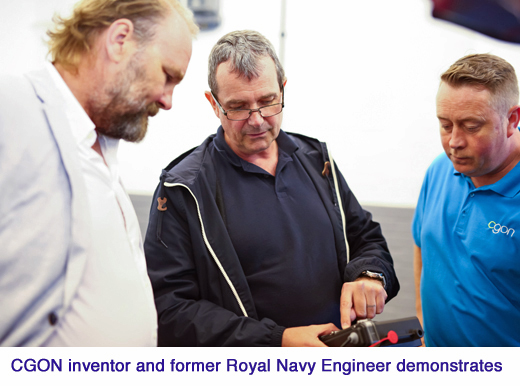 CGON Brian Sheard - CGON Inventor and former Royal Navy Engineer copy