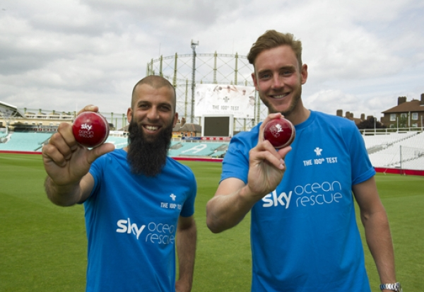 The Oval, England Cricket and Sky partner to make the venue plastic free