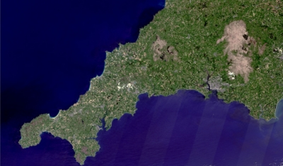 Searching from space for Cornish lithium crucial for electric car batteries
