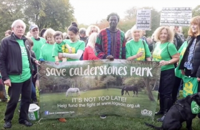 Rapper supports Save Calderstones Park campaign with personal song