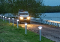 Environment Agency trials solar lights for off-grid national flood response hub