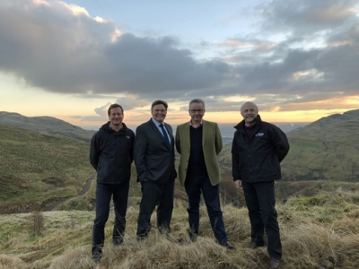 Gov't praise for Scottish forest blending commercial with wildlife & amentity
