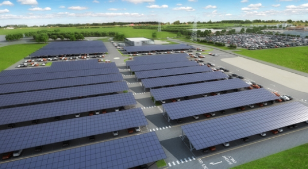 Bentley Motors to get UK's largest solar carport at its Crewe factory