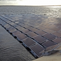 London reservoir gets Europe's largest floating solar array